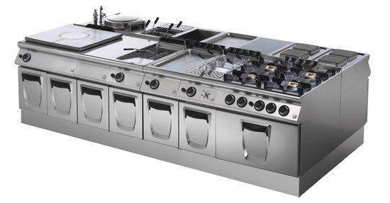 Maquinaria de hostelería: las cocinas modulares