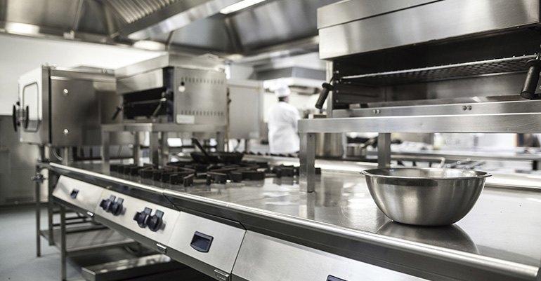 Maquinaria de hostelería y las cocinas industriales